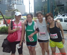 One Run. One Family. One LaSalle. – 16 KM Finish Line