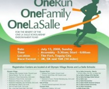 One Run. One Family. One La Salle.
