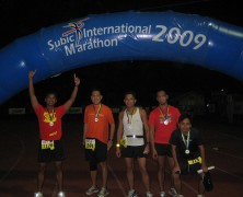 Papa-Paparazzi at the Subic International Marathon!