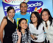 Derek Ramsay in Century Tuna Superbods Run 2010: Part 2